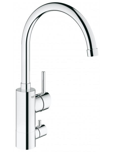 Grohe Concetto с запорным вентилем хром