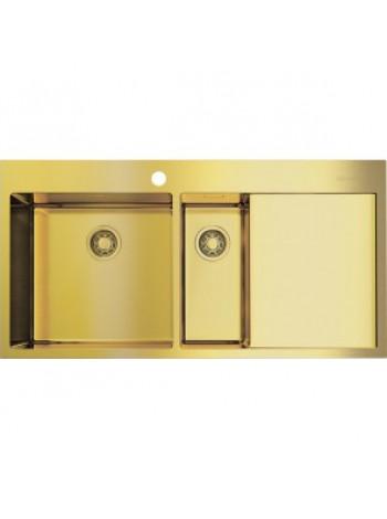 Кухонная мойка Omoikiri AKISAME 100-2 LG-L