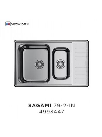 Кухонная мойка Omoikiri SAGAMI 79-2 IN