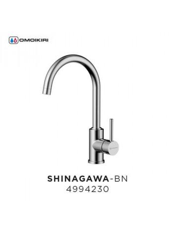 Смеситель OMOIKIRI Shinagawa-BN (Нержавеющая Сталь) - 4994230